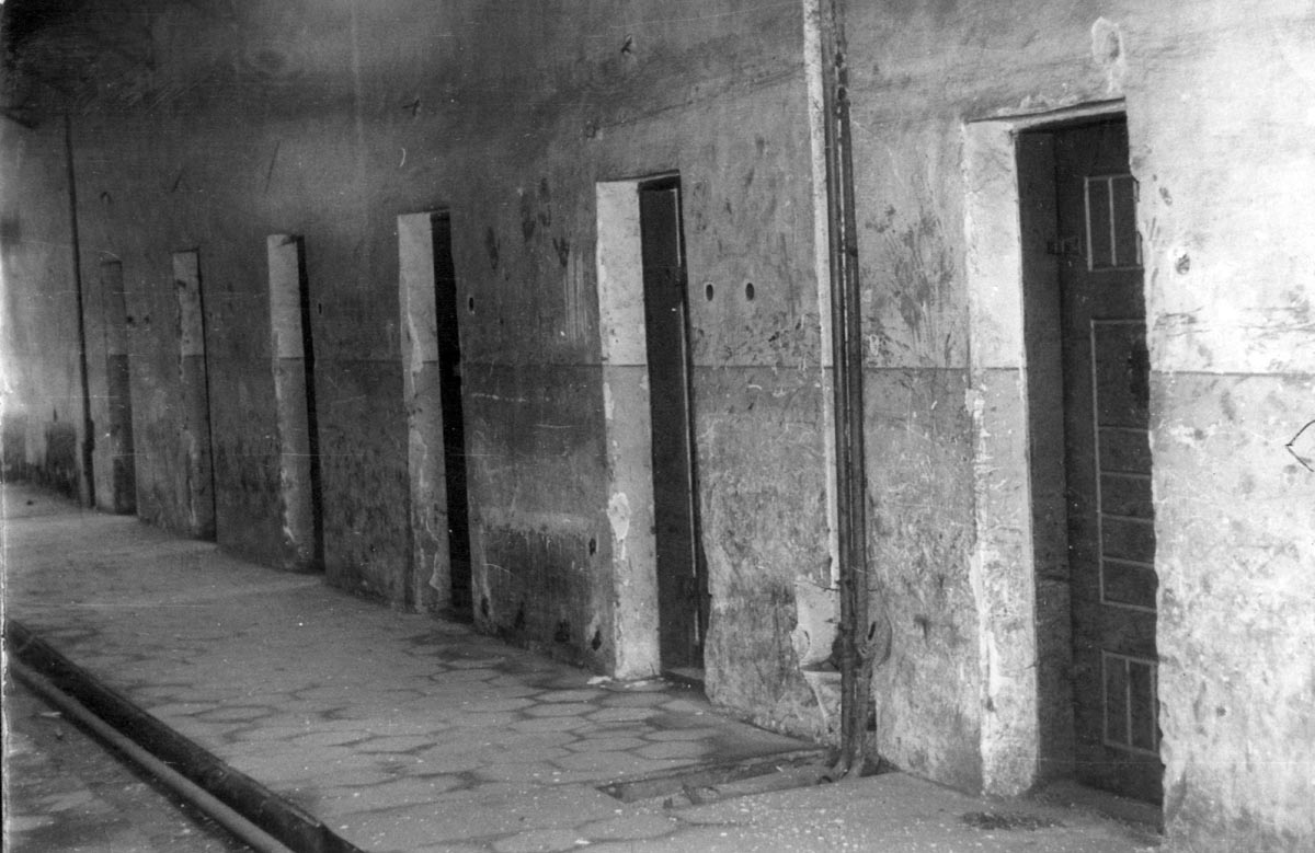A szigeti börtön az 1990-es évek elején