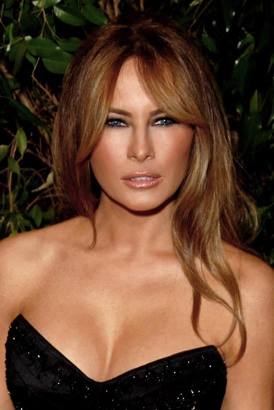 Melania Trump, a republikánus elnökjelölt felesége védelmébe vette a férjét