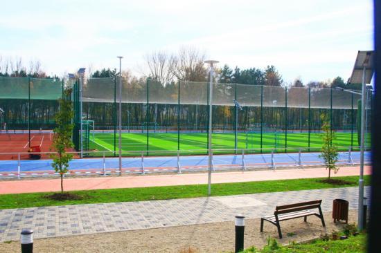 Új sporttelep a Györgyfalvi lakónegyedben