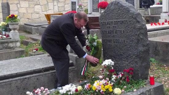 Kolozsváron is megemlékeztek Szilágyi Domokosról