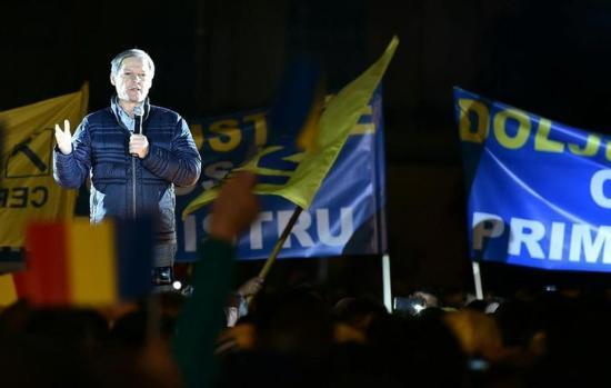 Cioloș is részt vett a PNL választási kampányindító nagygyűlésén