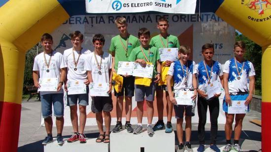 Román és magyar tájfutó bajnokságok