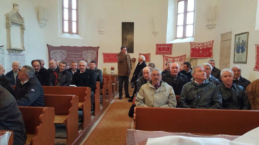 Konferencián Egeresen a 21. századi kalotaszegi presbitériumok