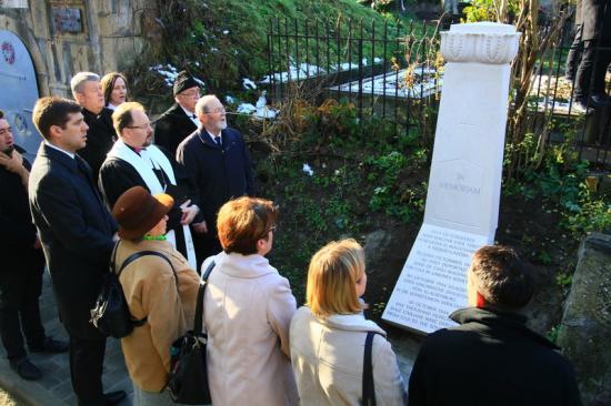 Emlékmű a Kolozsvárról elhurcoltaknak