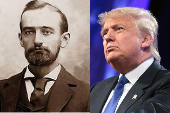 Donald Trump nagyapját kitiltották Németországból