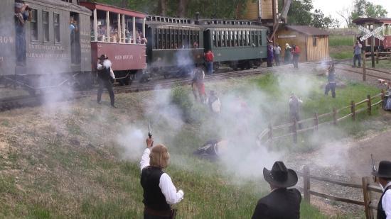 Mint a western-filmekben: szerelvényre támadtak Hunyad megyében