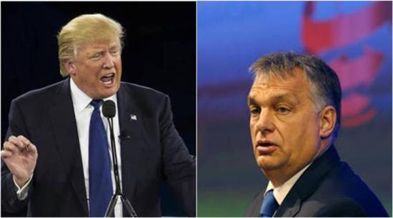 Trump látogatásra hívta Orbánt