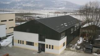 Tornatermet avattak a szamosújvári magyar iskolában