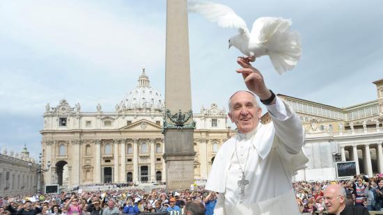 Szombaton lesz Ferenc pápa születésnapja