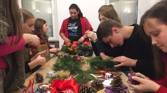 Karácsonyra hangolódott a Téka Szórványkollégium közössége