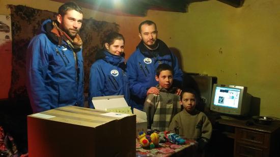 VIDEÓRIPORT - Humanitárius segélyakción a Gondviselés Segélyszervezet