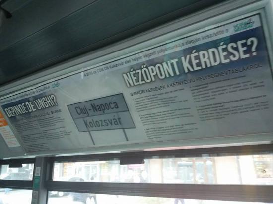 Kihelyezték a Muszáj-Musai reklámjait a buszokban