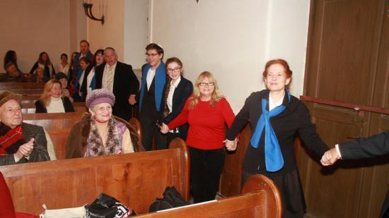 Hanuka 5777. ünnepség volt Kolozsváron