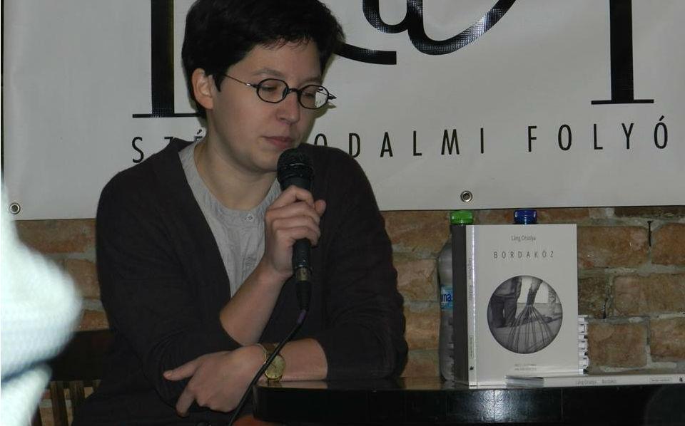 Láng Orsolya Bordaköz című verseskötetét ismerhették meg az érdeklődők