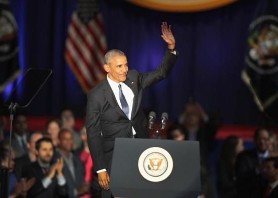 Barack Obama és családja elhagyta az amerikai fővárost