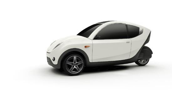 Környezetbarát a négyzeten: elektromos autó újrahasznosított anyagokból