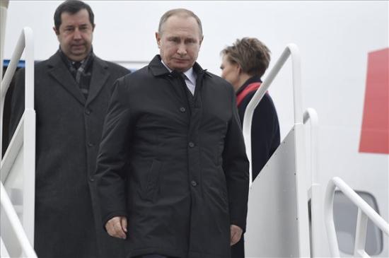 Magyarországra érkezett Putyin