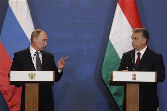 Putyin Budapesten - Szijjártó: a magyar gazdaság érdeke az orosz szankciók feloldása