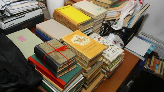 Könyveket gyűjtünk a kommandói iskolának