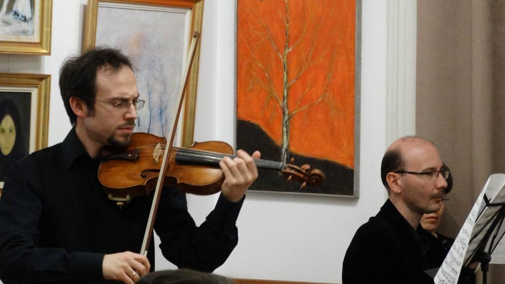 Ifj. Zerkula György hegedűművész volt a ZeneSzó februári vendége