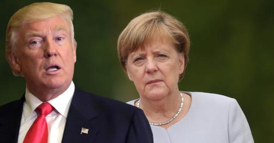 Angela Merkel és Donald Trump találkozó március 14-én