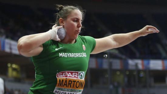 Márton Anita aranyérmes
