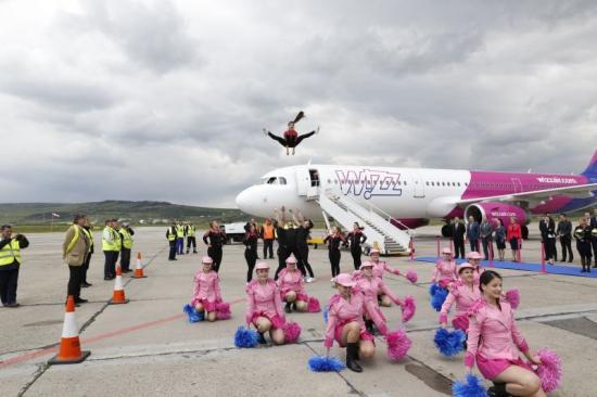 Wizz Air: hétmillió utas 10 év alatt Kolozsvárról