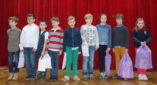 A Zrínyi matekverseny legjobbjai Kolozs megyében