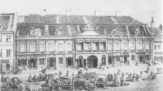Kolozsvári műemlékpaloták a Szabók Bástyájában