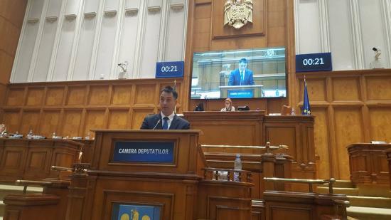 A Brassai iskola ügyében szólalt fel a képviselőházban Csoma Botond