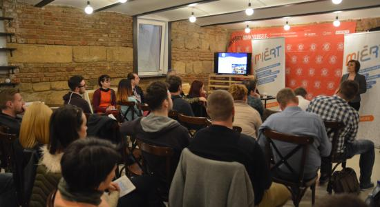 A Start-up Nation Románia programról szervezett tájékoztatót a MIÉRT