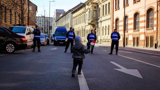 Hangulatképek – ilyen volt március 15. Kolozsváron