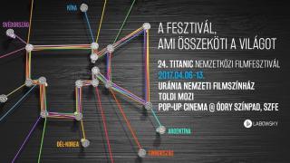 Huszonhét ország 34 filmjét vetítik az áprilisi Titanic Filmfesztiválon