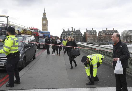 Lövöldözés a londoni parlamentnél, kettős támadás