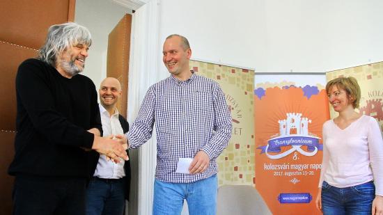 Deák Bill Gyula és Hobo a 8. Kolozsvári Magyar Napokon
