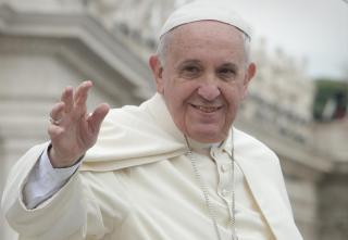 Ferenc pápa fogadja Klaus Johannis államfőt