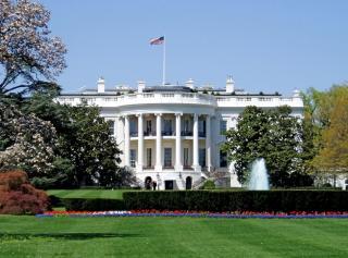 Ezúttal nő mászott át a Fehér Ház kerítésén