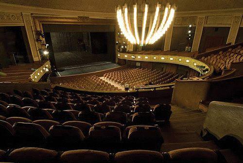 Ilyen a boksz. És a színház milyen?