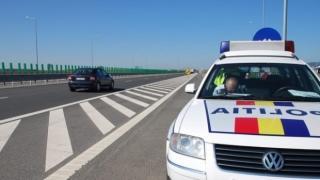 225 kilométer/órával száguldott egy bukaresti férfi az A1-es autópályán