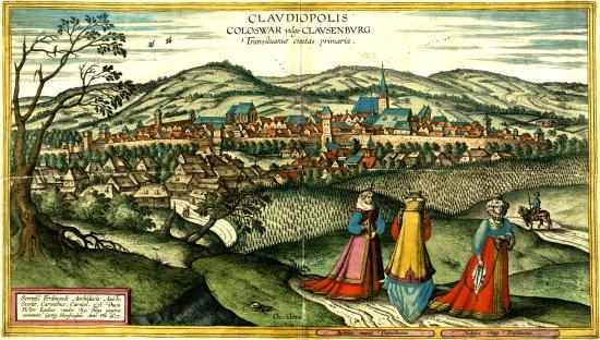 Kolozsvár és a latin tábla a határon