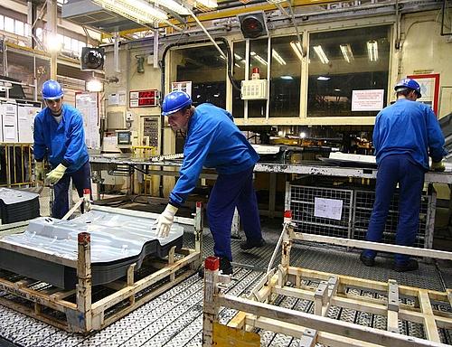Több mint 5 százalékkal nőtt az ipari termelés