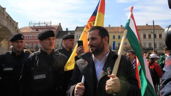 Március 15. Kolozsváron: válaszolt a csendőrség Soós Sándornak és Csoma Botondnak