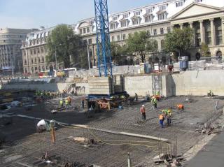Csökkent az építőipari termelés az első két hónapban