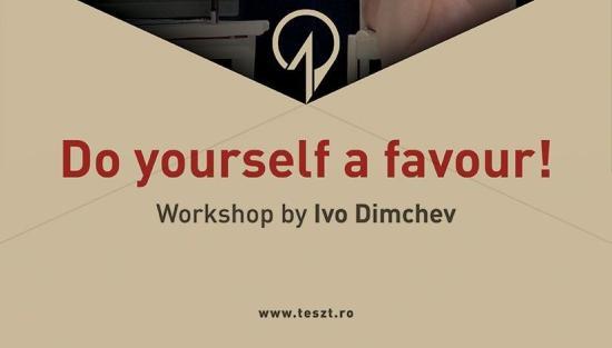 Ivo Dimcsev-workshop a TESZT-en