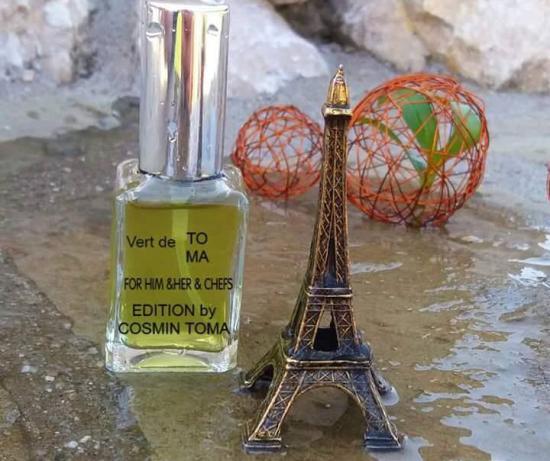 Ehető parfümöt fejlesztett ki egy Fehér megyei főszakács