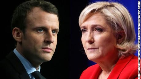 Franciaországi elnökválasztás - Macron - Le Pen második forduló