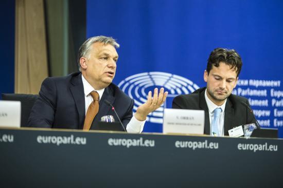 Orbán Viktor megvédte Magyarországot az Európai Parlamentben