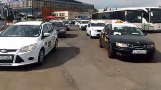 Taxisok az Uber ellen Kolozsváron