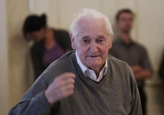Kányádi Sándort köszöntötték 88. születésnapja alkalmából Budapesten