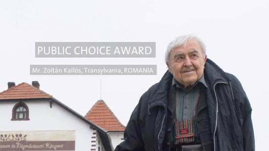 Kallós Zoltánnak ítélték oda az Europa Nostra Közönségdíjat